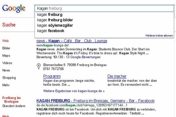 Das Kagan in Freiburg ist eine beliebte Disco. Aber wer ist Söylemezgiller? Ein neuer DJ? Ein Cocktail? Weder noch: Ein türkischer Fußballer, Vorname Kagan.