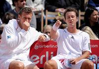 Deutsche Tennisspieler streiten um eine SMS