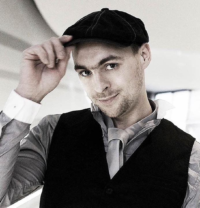 Im Dezember stellt er seine neue CD im Freiburger Jazzhaus vor: Max Mutzke     Foto: Heiko Franz