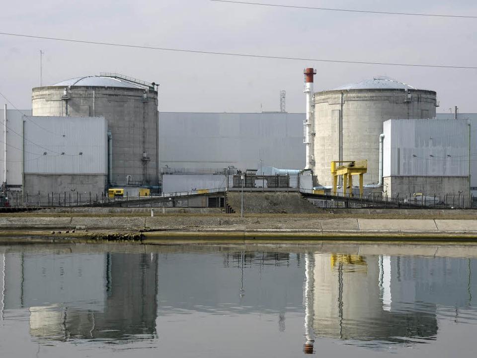 Das Ende steht: Das Atomkraftwerk in Fessenheim geht 2016 vom Netz.  | Foto: dpa