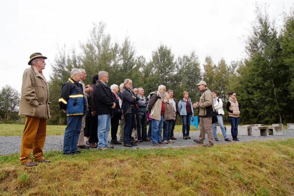 Reise in die Urzeit: Eine BZ-Leserfahrt führte zur berühmten Fossilienfundstätte Grube Messel, Unseco-Welterbe, und zum Heimat- und Fossilienmuseum Messel. (Foto: Stephan Hoferer)