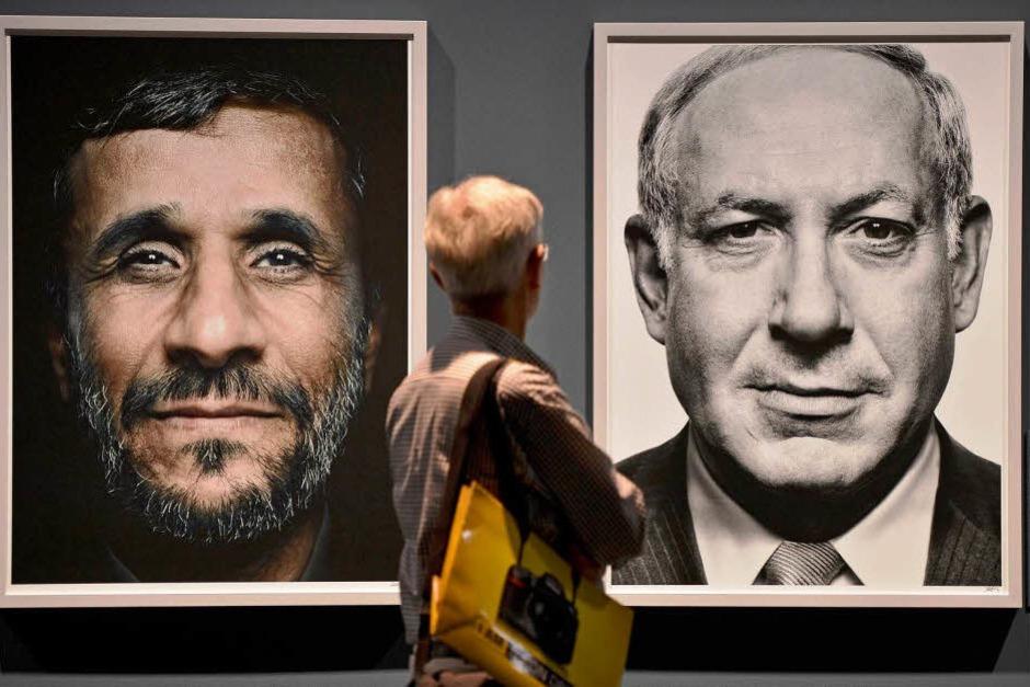 """Ausstellung """"Faces of Power"""" des Griechen Platon Antoniou. (Foto: dapd)"""