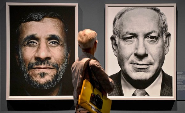 "Ausstellung ""Faces of Power"" des Griechen Platon Antoniou."