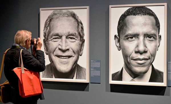 "Ausstellung ""Faces of Power"" des Griechen Platon Antoniou."
