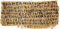 Papyrusfund entfacht Diskussion um m�gliche Jesus-Ehe