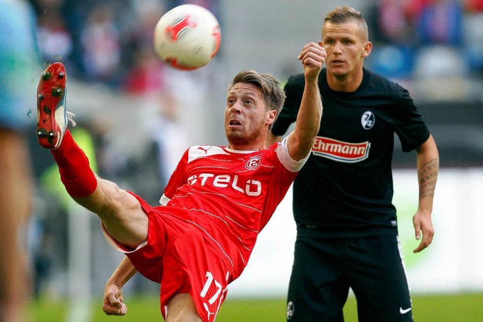 Remis am Rhein: Das 0:0 in Düsseldorf beschert dem SC Freiburg einen Auswärtspunkt. (Foto: dapd)