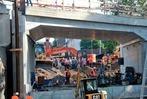 Fotos: Brücke für Freiburger Stadtbahnverlängerung und Güterbahn eingeschoben