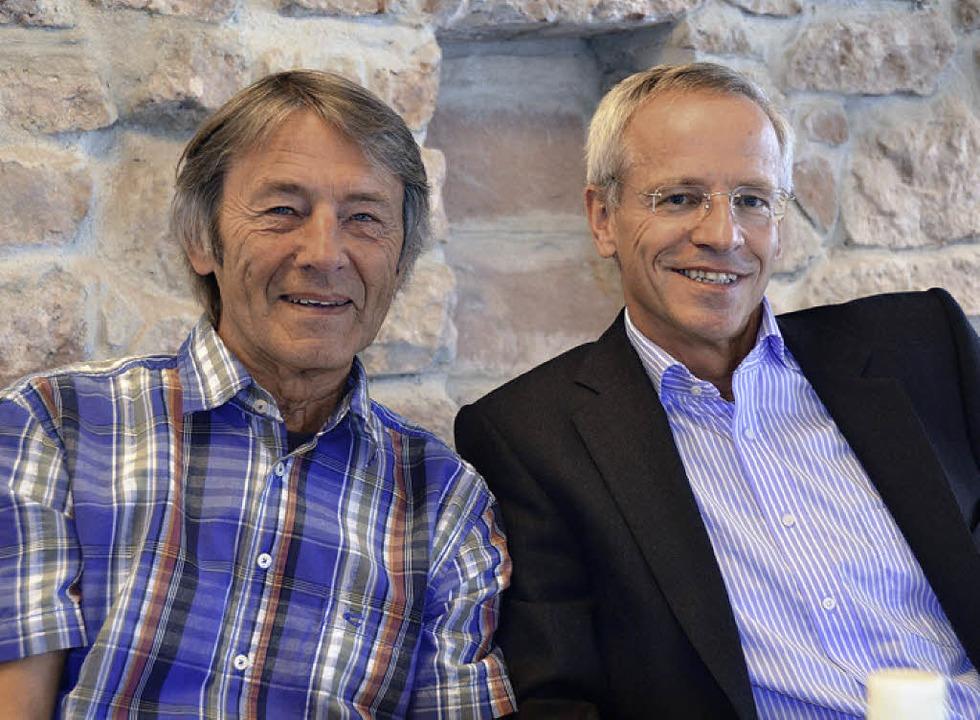 Sehen neue Perspektive für den Stadtla...er Zepner (links) und Carl Anton Weber  | Foto: FI/dec