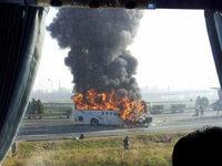 Bus in Flammen: F�nf Deutsche im Norden Chinas get�tet