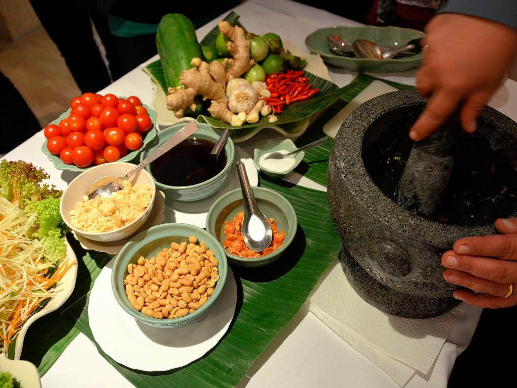 thai-küche im chada thai: zwischen frisch und fruchtig-feurig ... - Thailand Küche