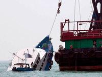 Mehr als 35 Tote bei Schiffsungl�ck vor Hongkong