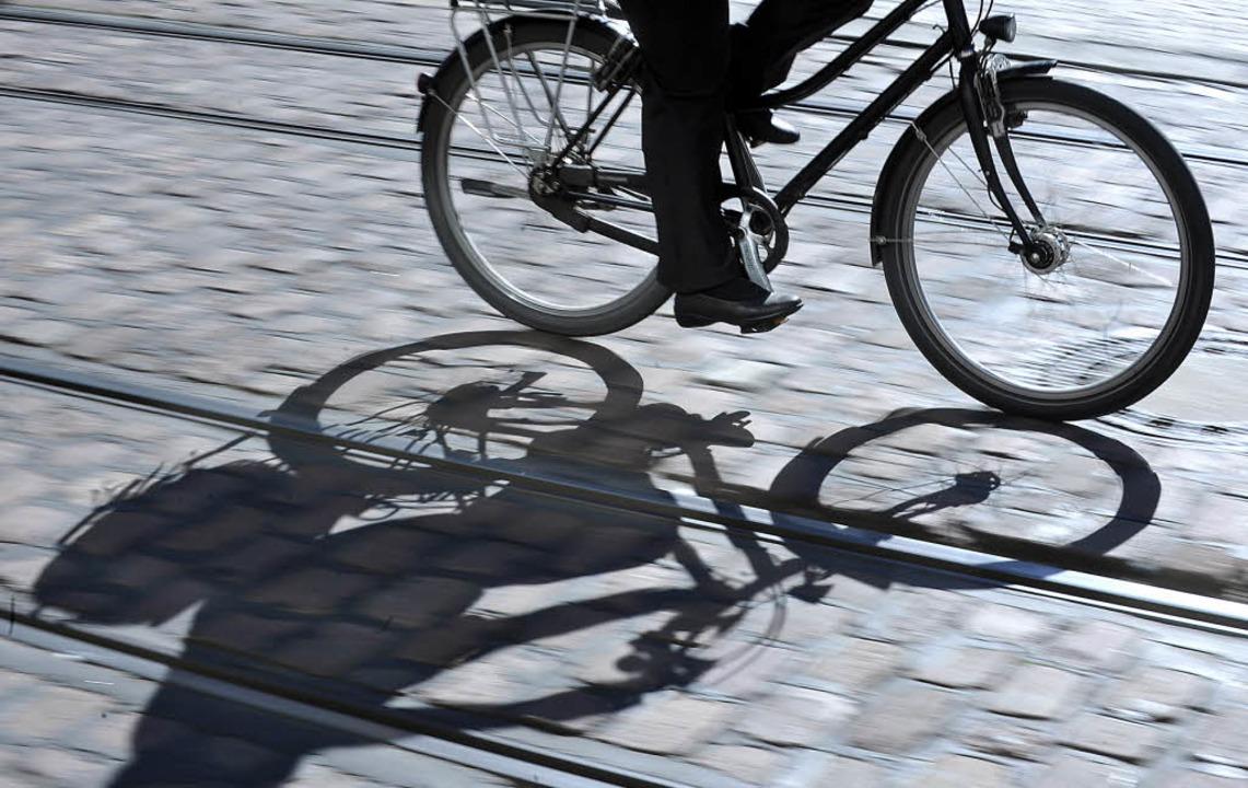 Rad und Straßenbahn sind innerstädtische die Hauptverkehrsmittel.   | Foto: Michael Bamberger