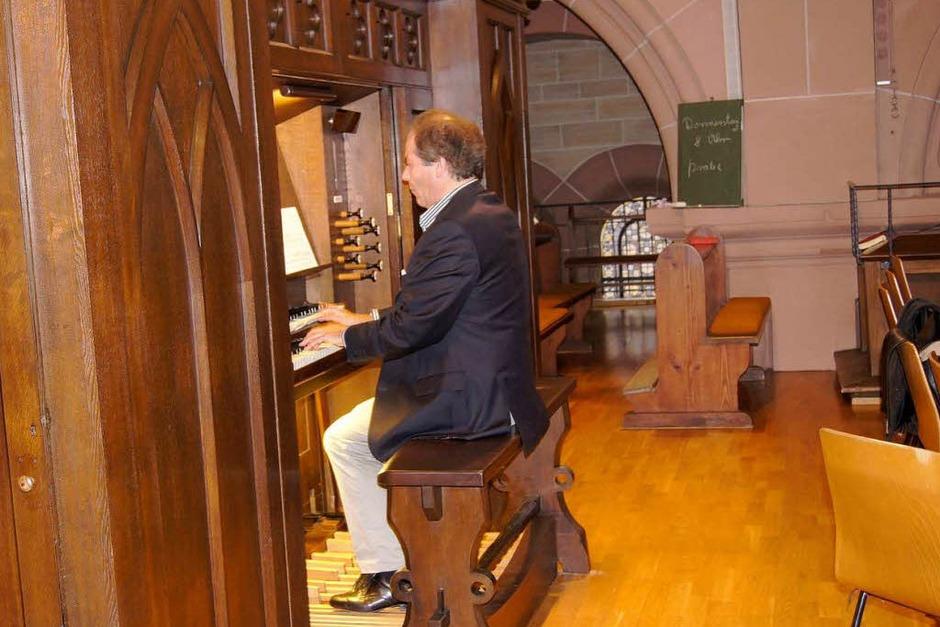 BZ-Leserfahrt zu Orgeln in Forchheim am Kaiserstuhl, Alpirsbach und Schramberg sowie zur Orgelbaufirma Jäger & Brommer in Waldkirch<?ZE?> (Foto: Simon Müller)