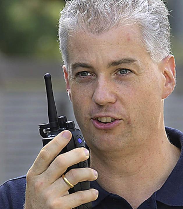 Markus König ist Sicherheitschef und Feuerwehrkommandant.  | Foto: Christian Kramberg
