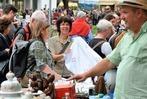Fotos: Flohmarkt auf der Habsburger Straße