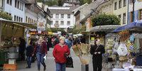 Herbstmarkt in Sch�nau lockte zum Bummel