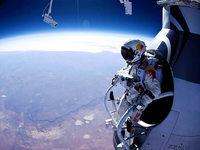 Spektakulärer Weltraumsprung