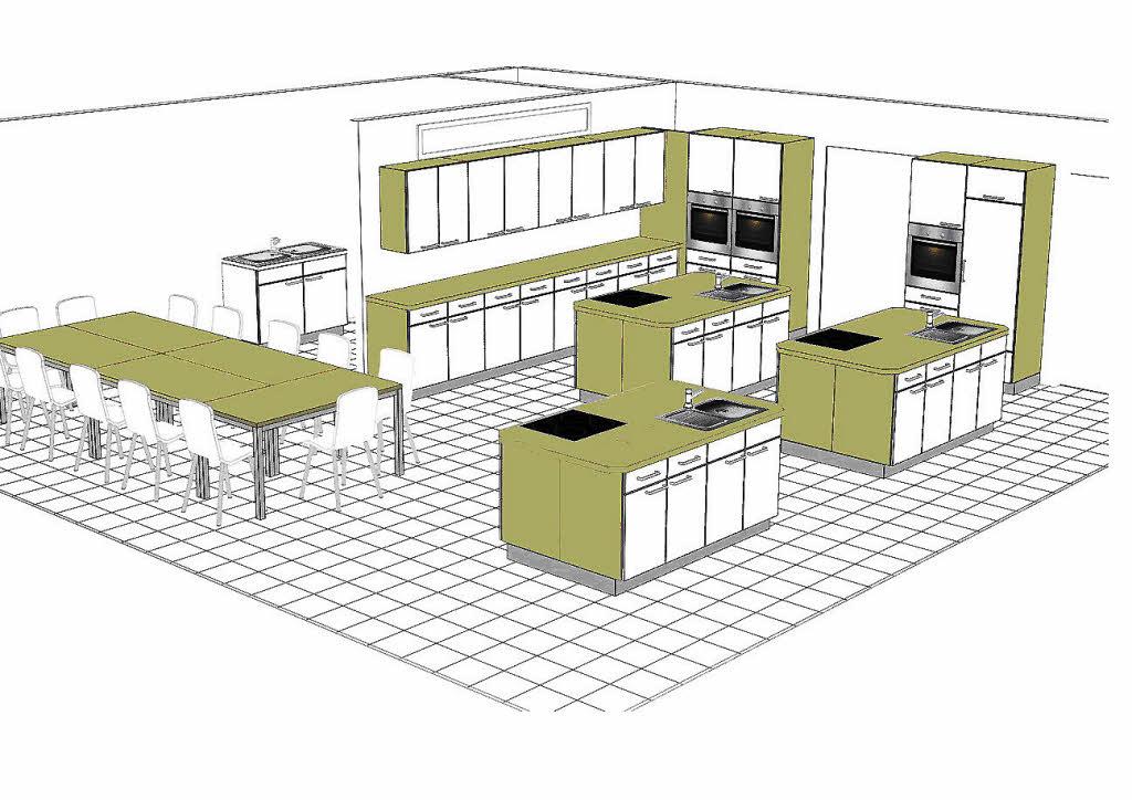 die k che kann kommen mei enheim badische zeitung. Black Bedroom Furniture Sets. Home Design Ideas