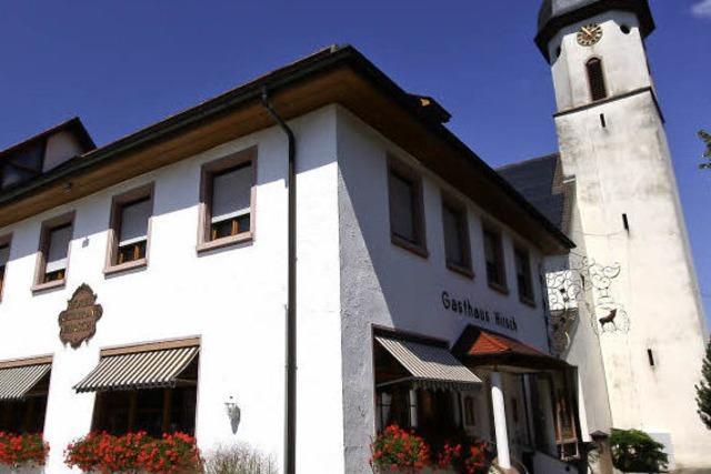 Hirsch in Berghaupten: Abseits des Touristenrummels
