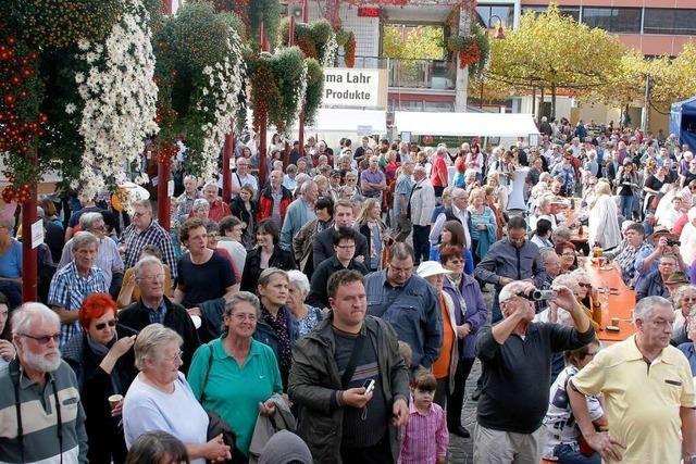 Fotos: Tausende kommen zur Chrysanthema-Eröffnung nach Lahr