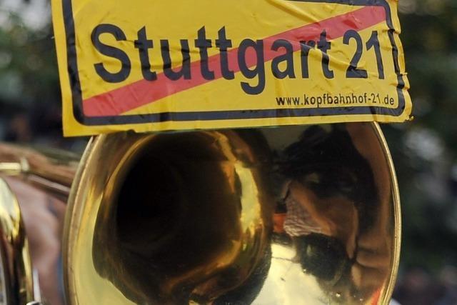 Kostenstreit um Stuttgart 21