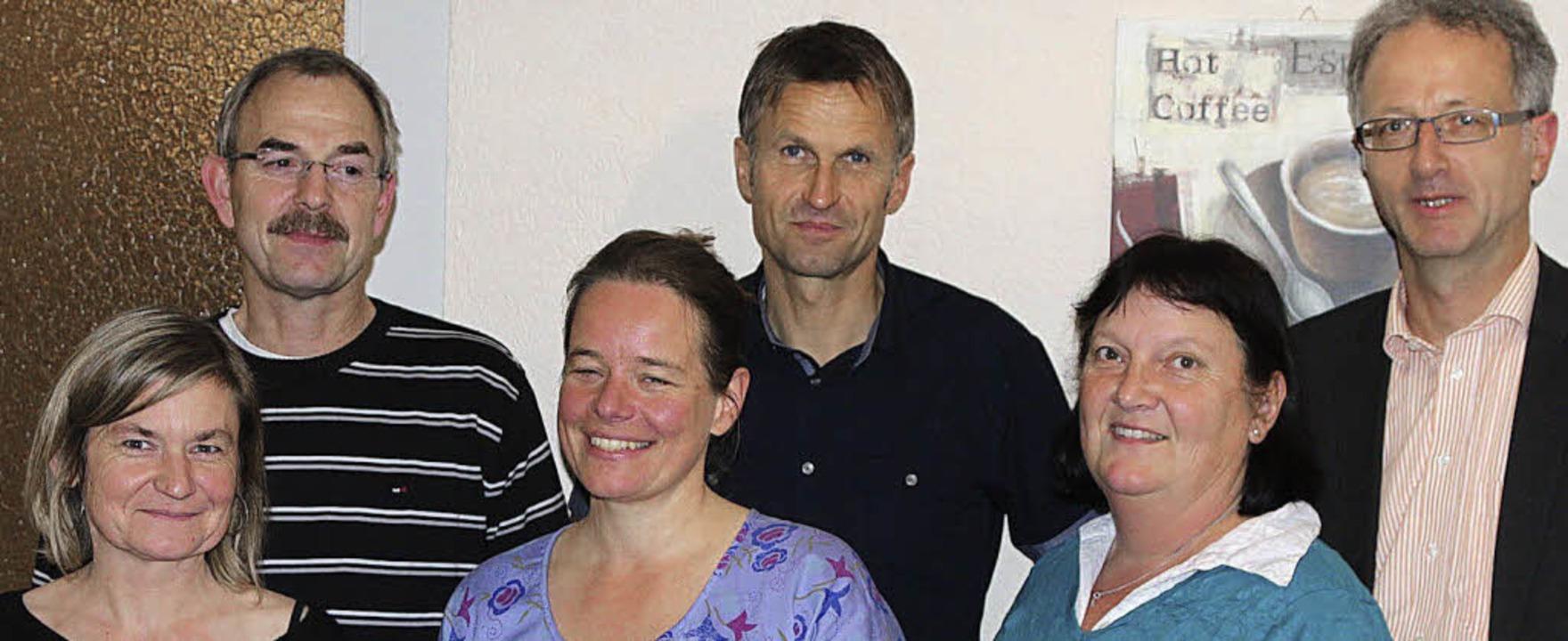 Gemeinschafts-Vorstand wieder komplett...ann, Ulrike Mölbert und Stephan Mohr.   | Foto: Hans-Jürgen Hege