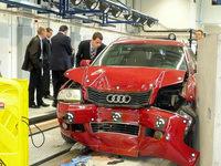 Neue Crashtestanlage in Efringen-Kirchen f�r die Autos der Zukunft