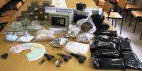 Polizei zerschl�gt Rauschgiftring – 44 Kilo Drogen beschlagnahmt