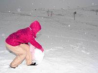 Wintereinbruch: Erster Schnee auf dem Feldberg