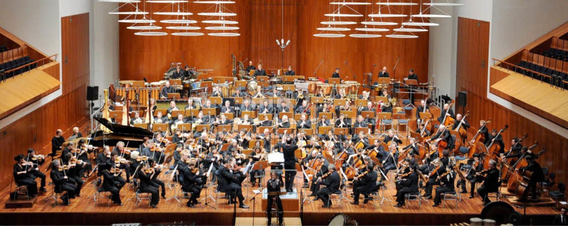 Sinfonieorchester des SWR.    Foto: dpa