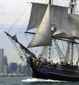 Hurrikan bringt die Bounty in Seenot