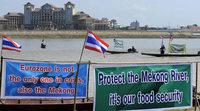 Bauarbeiten an Mekong-Staudamm beginnen