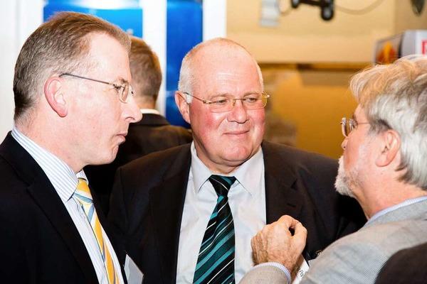 Hans-Otto Holz mit Wolfgang Poppen und Thomas Hauser