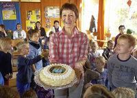Großes Fest für eine Lehrerin mit vielen guten Eigenschaften