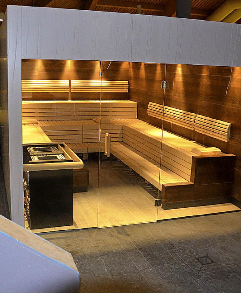 Weil am Rhein: Neue Sauna – ein Ort des Wohlfühlens - badische ...