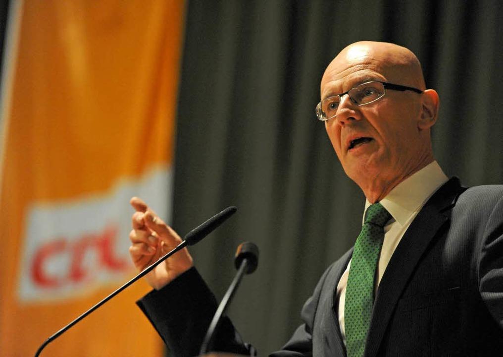 Der CDU-Bundestagsabgeordnete Siegfrie...Herausforderer Thorsten Frei verloren.  | Foto: Patrick Seeger