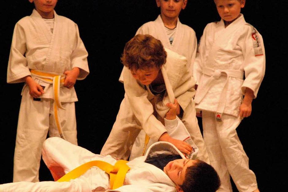 Die Judoka des Vereins (Foto: Maja Tolsdorf)