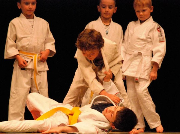 Die Judoka des Vereins