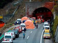 Offenbar mehrere Tote bei Tunneleinsturz in Japan