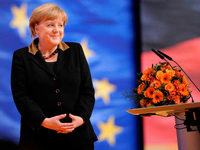 CDU-Parteitag: Mutti ist der Boss