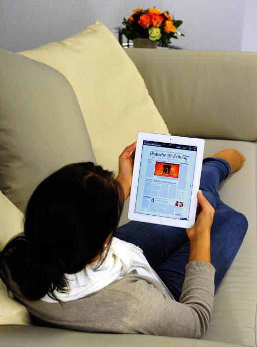 zum bz abo das g nstige ipad computer medien badische zeitung. Black Bedroom Furniture Sets. Home Design Ideas