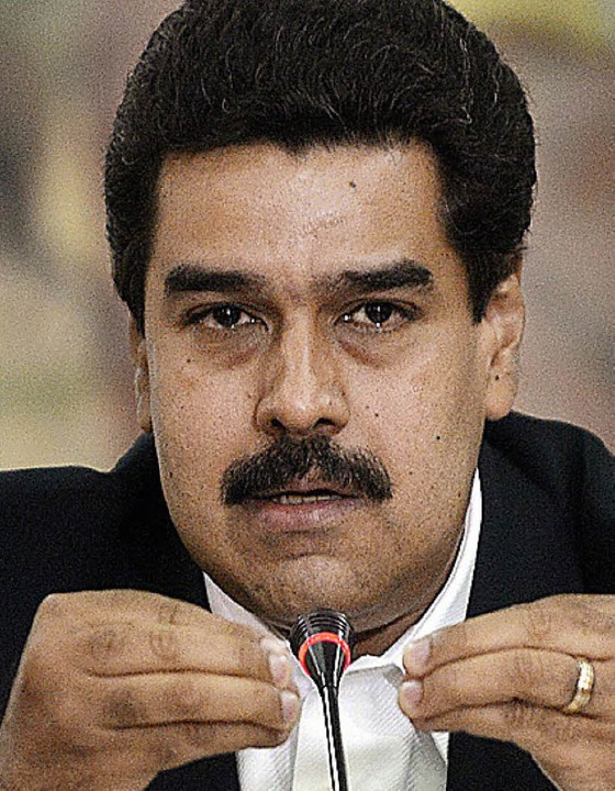 Nicolàs Maduro     Foto: AFP