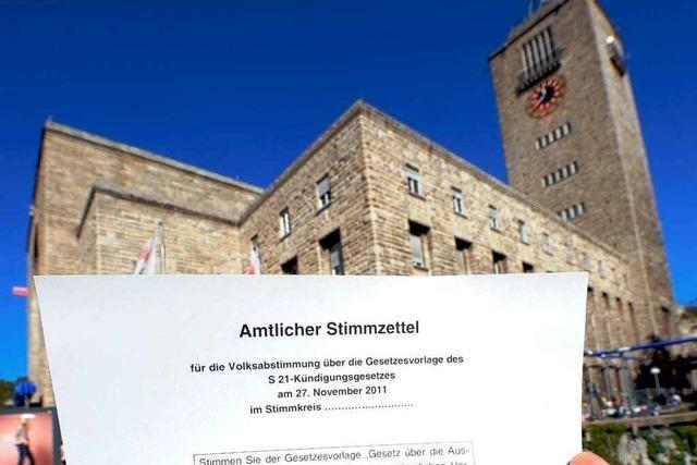 Studie zum Stuttgart-21-Plebiszit – Kostenstreit verschärft sich