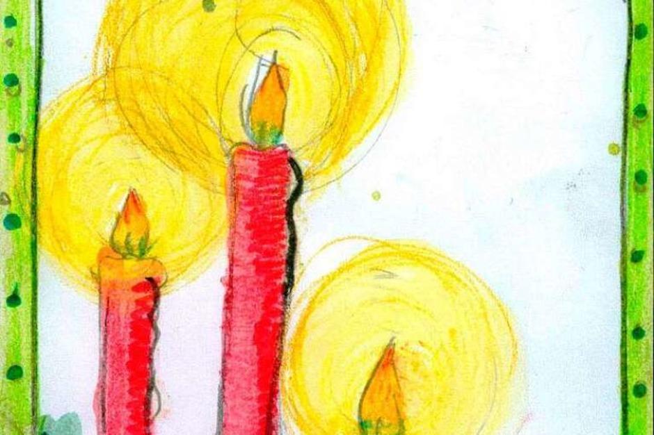 Weihnachtskarte von Sophie Zähringer. (Foto: Privat)