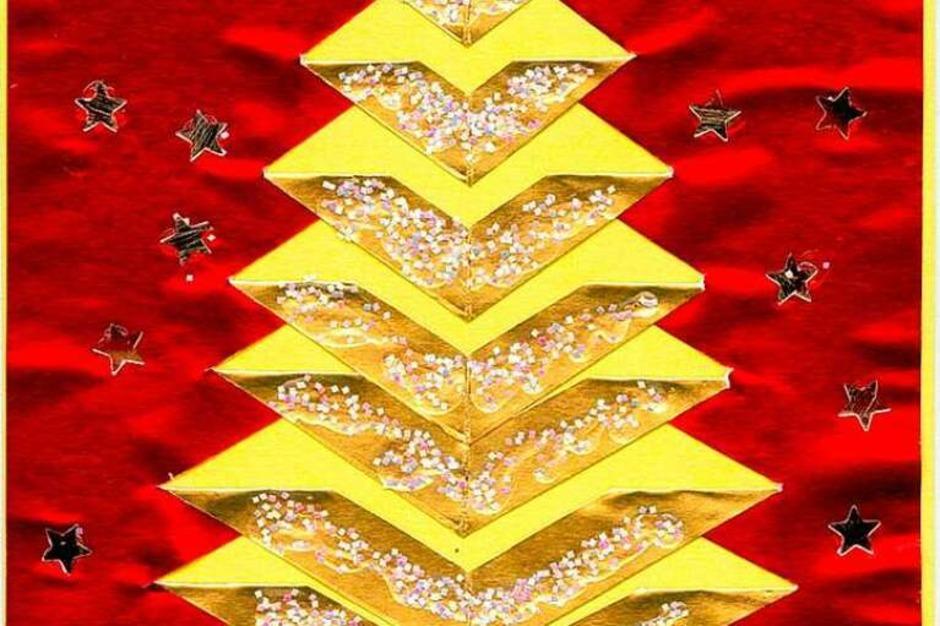 Weihnachtskarte von Leo Gloeser (Foto: Privat)