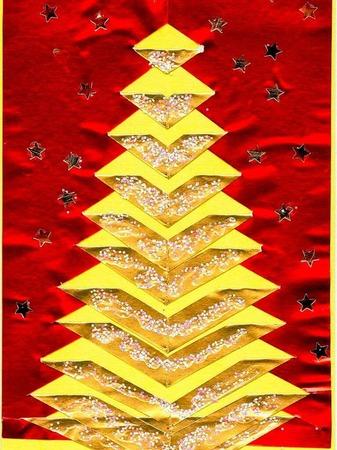 Weihnachtskarte von Leo Gloeser