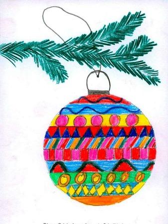 Weihnachtskarte von Luna Lange