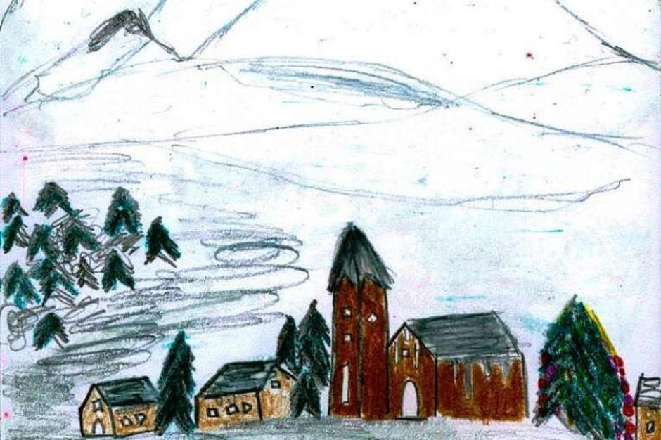 Weihnachtskarte von Paul Brosi (Foto: Privat)