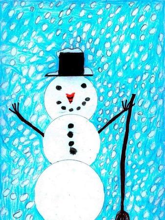 Weihnachtskarte von Johannes Schmid
