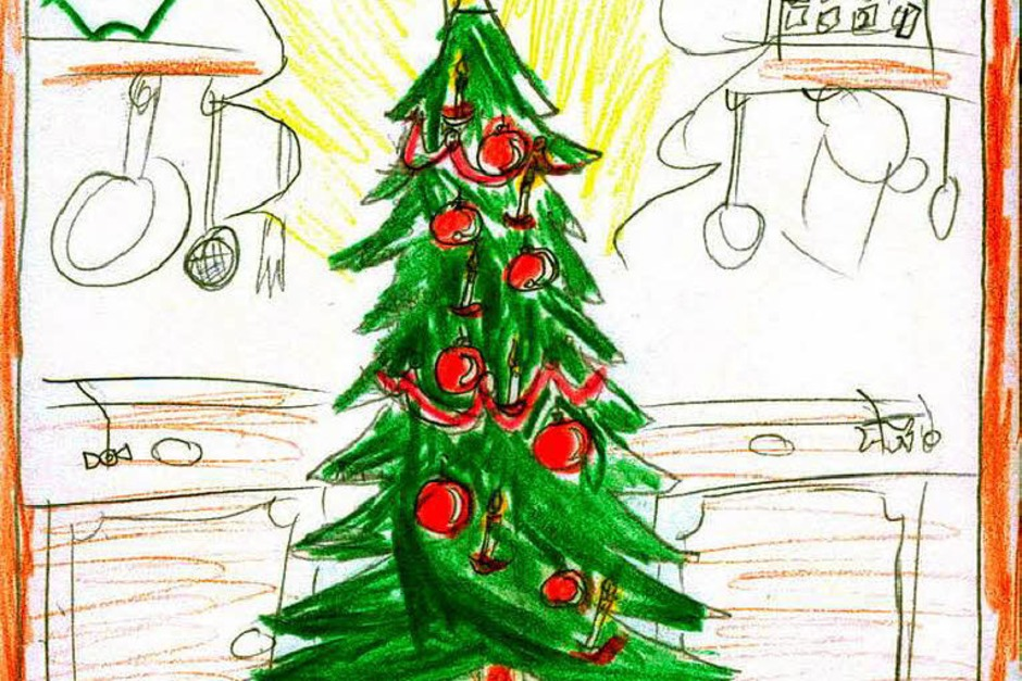 Weihnachtskarte, Künstler nicht bekannt (Foto: Privat)